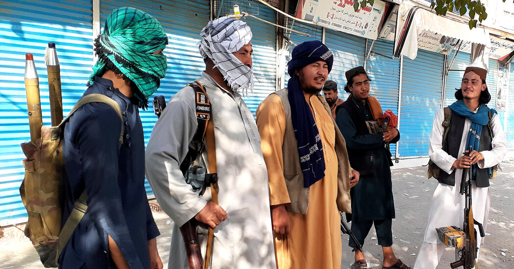 A Week Into Taliban Rule, One City's Glimpse of What the Future May Hold
