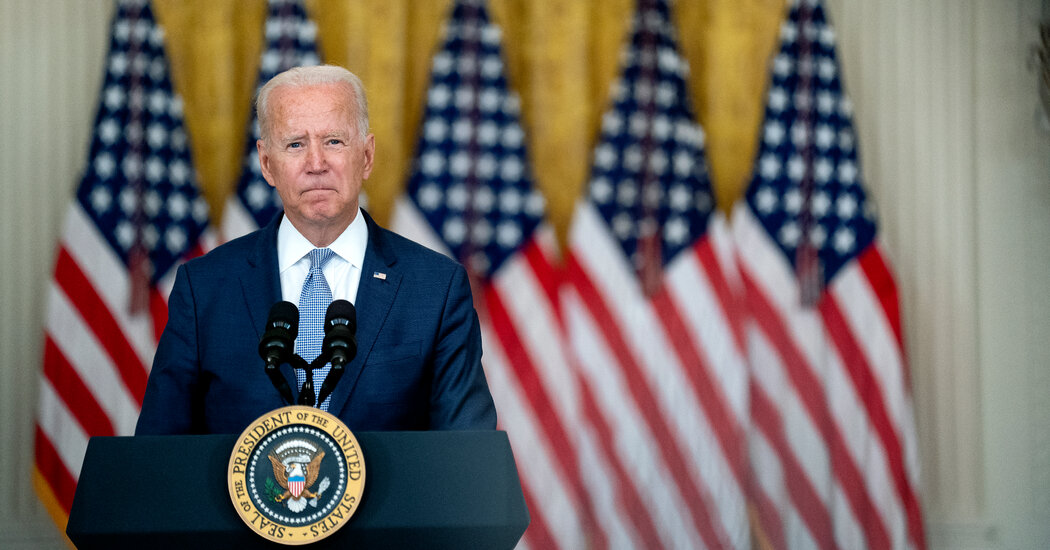 For Biden, Images of Defeat He Wanted to Avoid