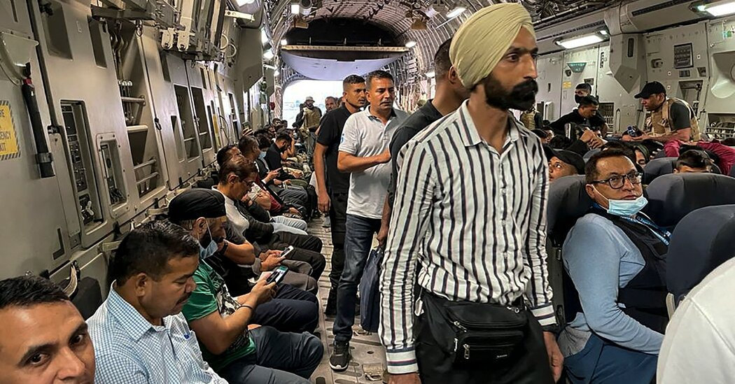 India says it will prioritize Hindus and Sikhs in issuing 'emergency visas' to Afghans.
