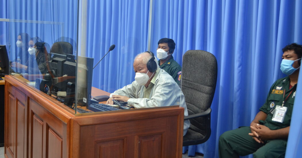 Khmer Rouge Leader Appears in Court to Appeal Genocide Conviction